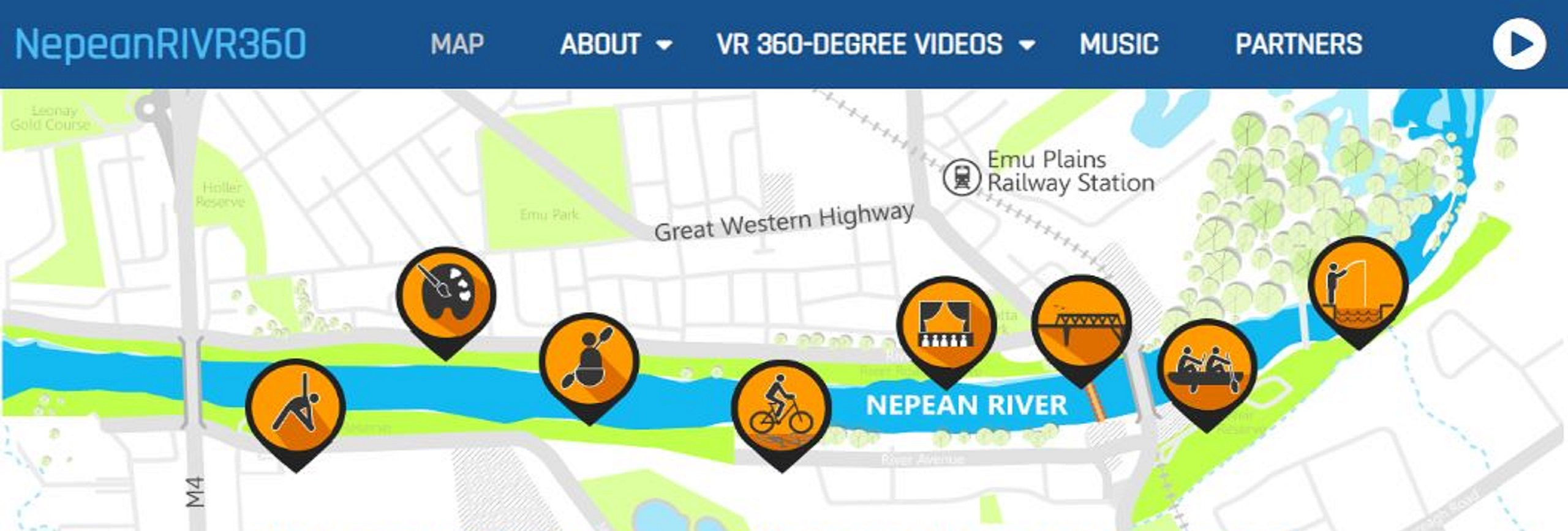 Nepean River 360 screenshot