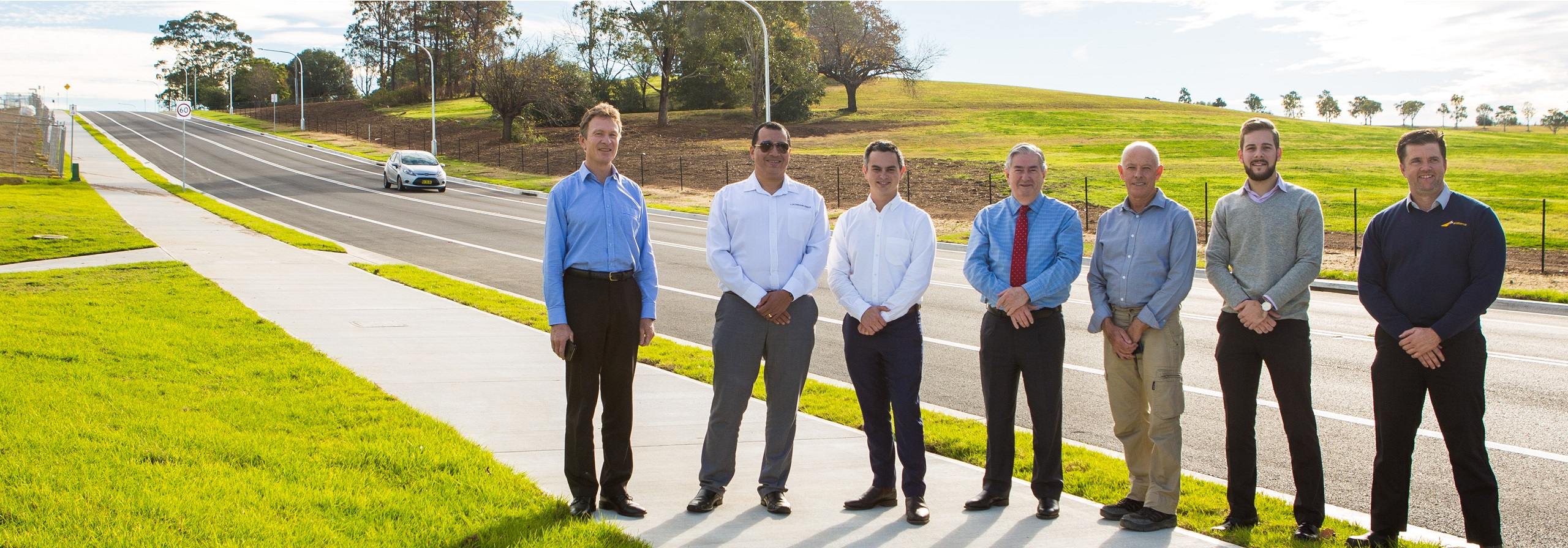 Penrith Mayor and design and construction partners