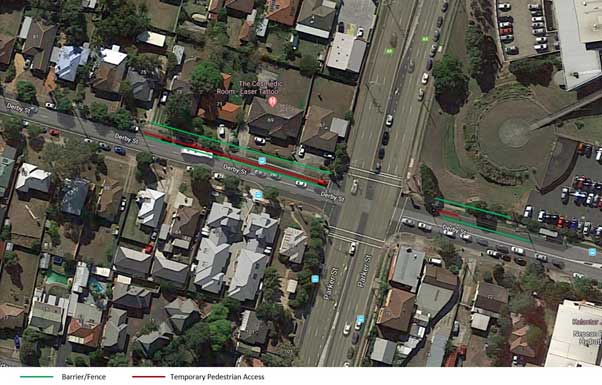 Northern Road Intersection Upgrade at Derby Street