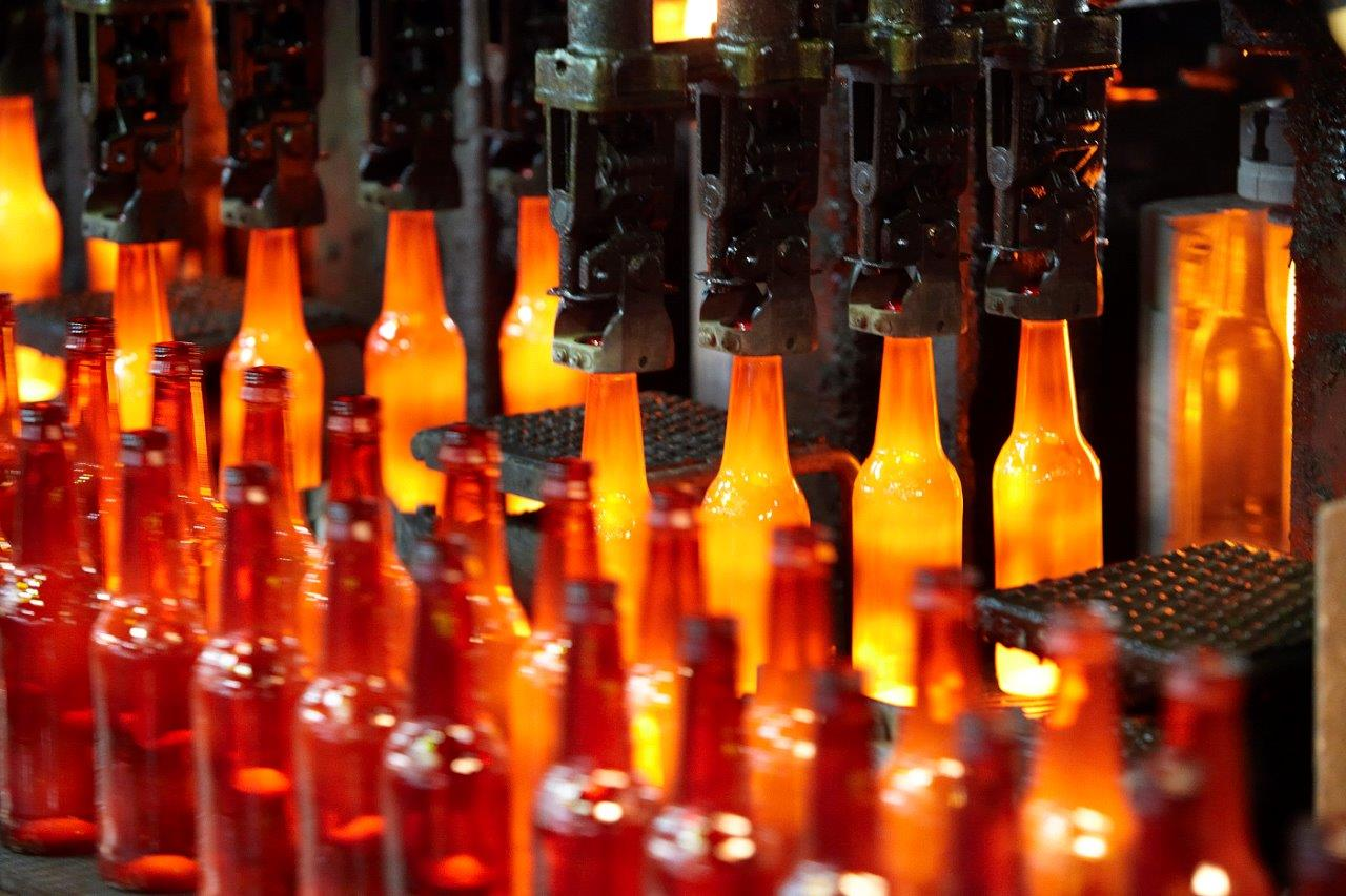 Glass bottles production line