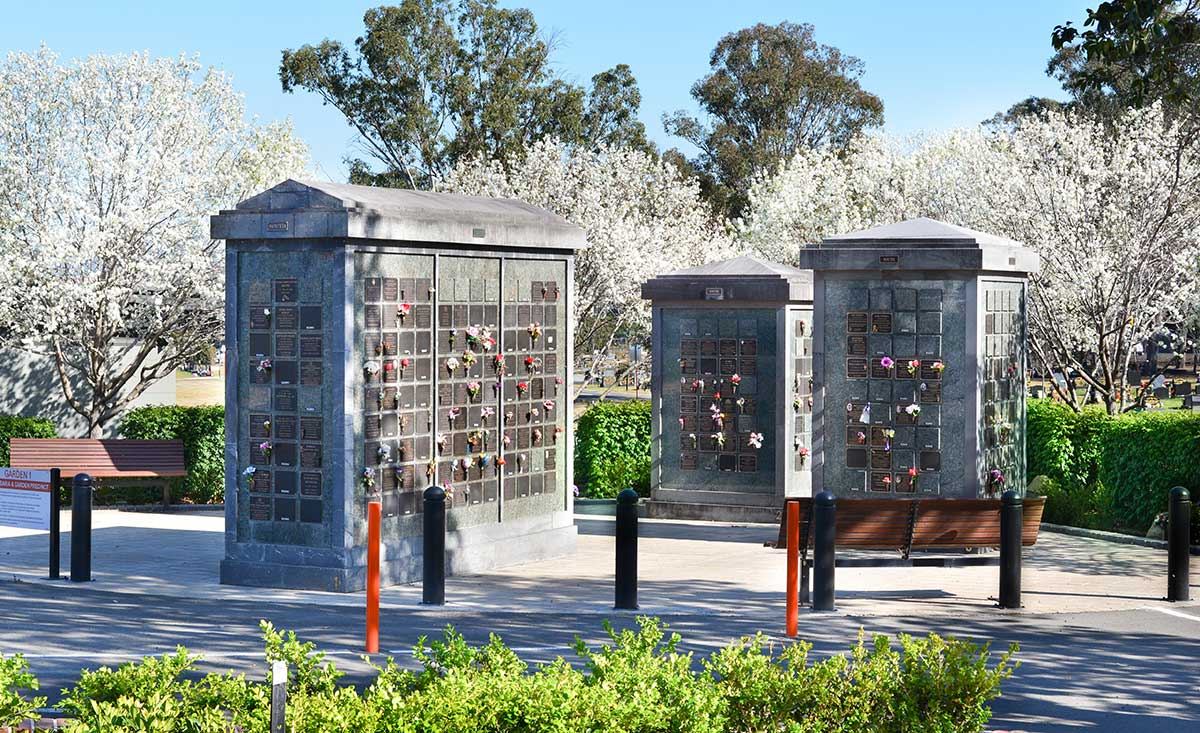 Penrith General Cemetery Columbarium Wall