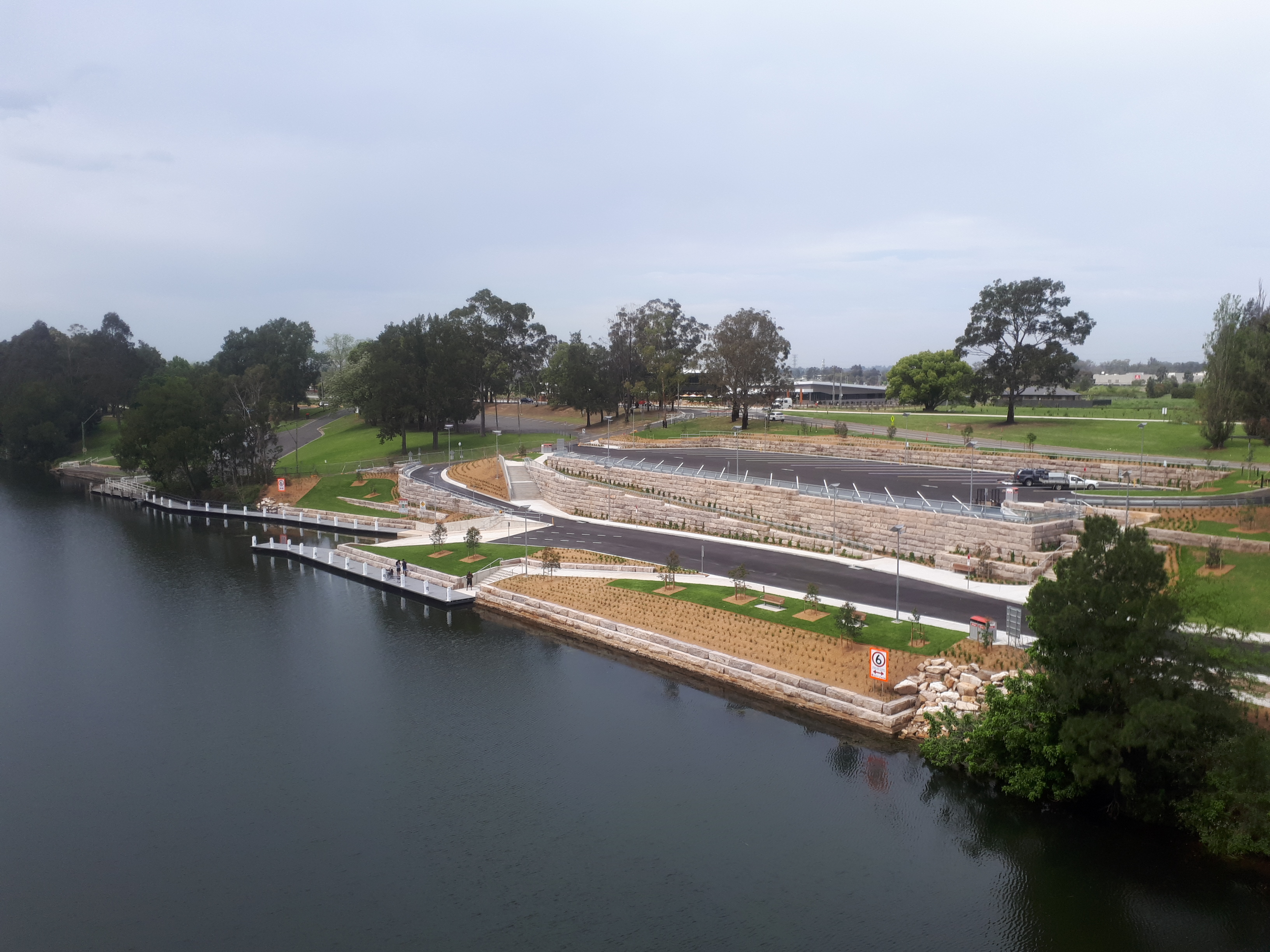 tench reserve boat ramp complete