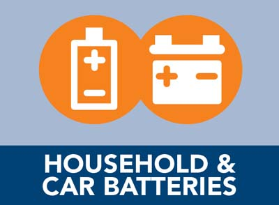 Household and car batteries